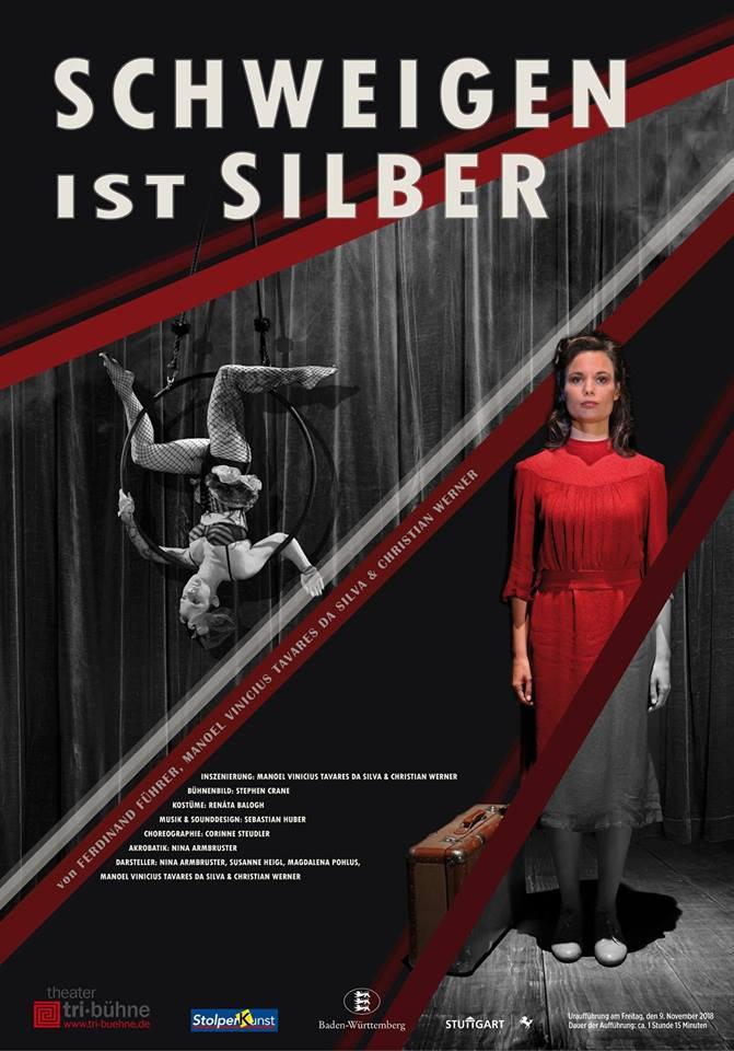 Schweigen ist Silber –  im Theater tri-bühne