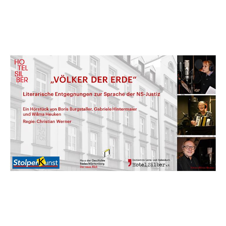 """""""VÖLKER DER ERDE"""" – Literarische Entgegnungen zur Sprache der NS-Justiz"""